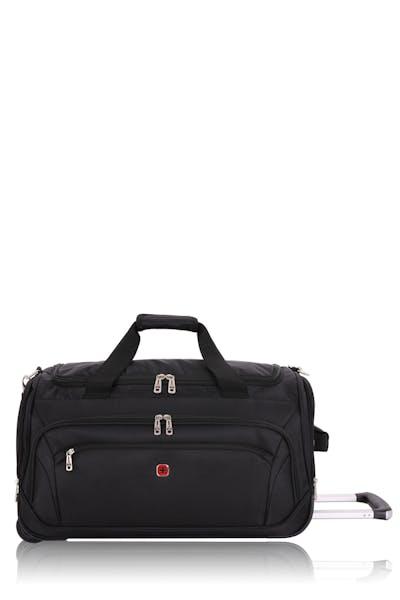 "Swissgear 7895 22.5"" Zurich Wheeled Duffel Bag - Black"