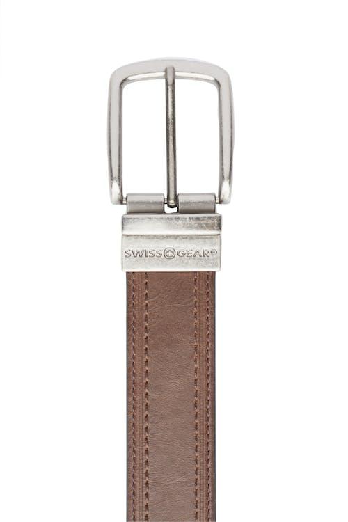 Swissgear Reversible Casual Belt - Brown Side