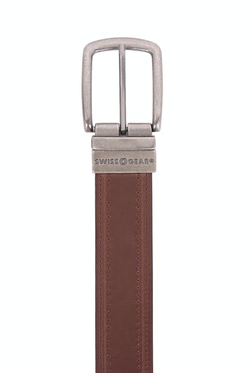 Swissgear Reversible Casual Belt - Brown