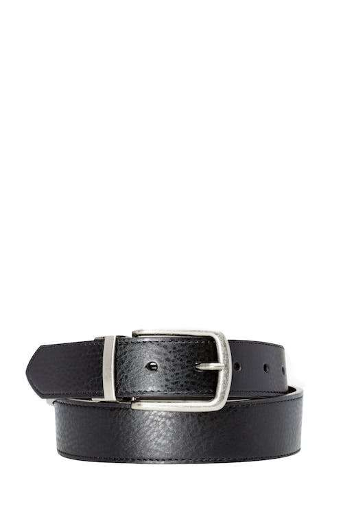 Swissgear Reversible Casual Belt - Black/Dark Brown