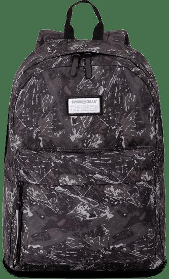 SWISSGEAR 2819 TABLET BACKPACK - RIDGE DARK GREY PRINT