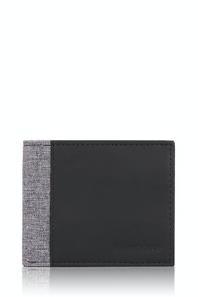 SWISSGEAR Bifold Wallet - Black/Gray Heather