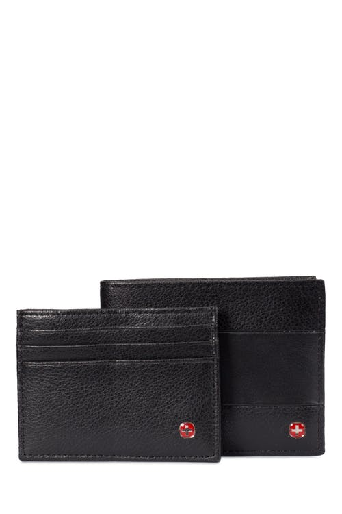 SWISSGEAR Wallet Passcase w/ Card Case - Black