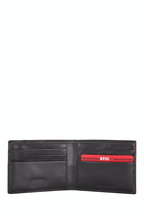 SWISSGEAR RFID Wallet RFID-blocking lining deters identity theft