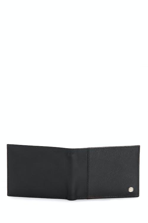 SWISSGEAR Saffiano Bifold Wallet w/ RFID Blocking Four card slots