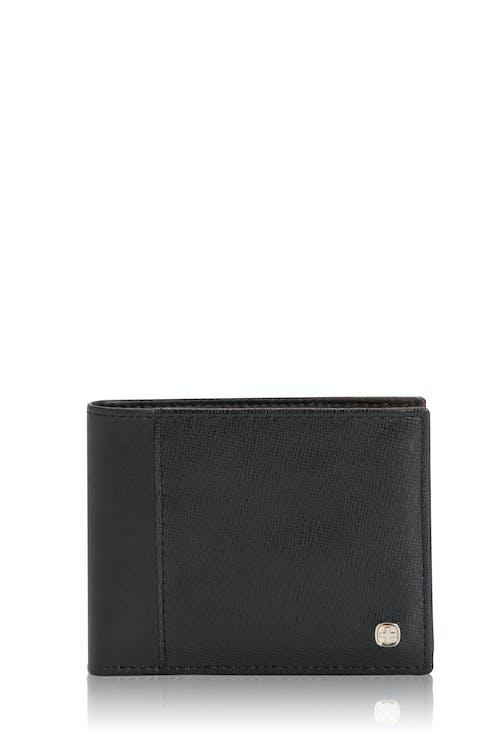 SWISSGEAR Saffiano Bifold Wallet w/ RFID Blocking