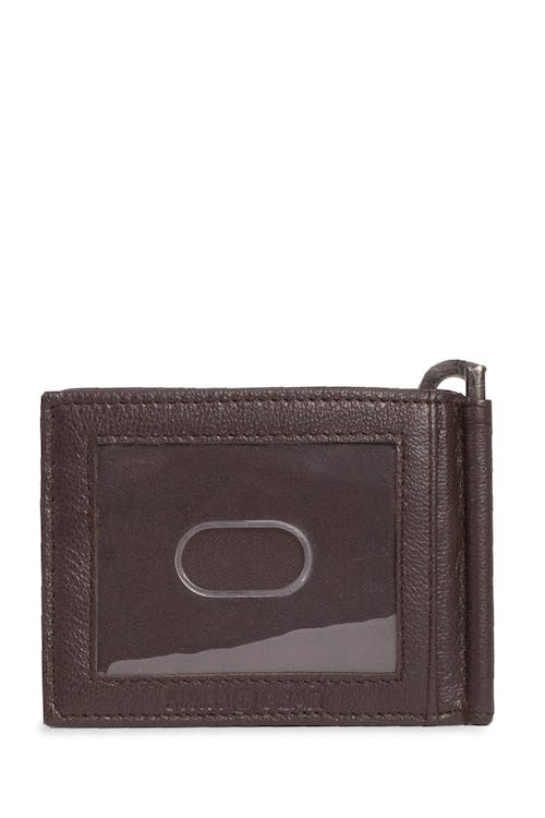 Swissgear Men's Slim Bifold Wallet With Money Clip Bifold leather wallet with money clip