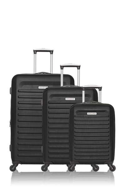 Swissgear Collection de bagages Intercontinental - Ensemble de 3 valises rigides