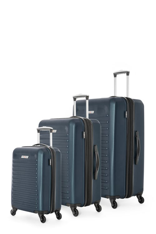 Swissgear Intercontinental Collection Hardside Luggage 3 Piece Set - Blue