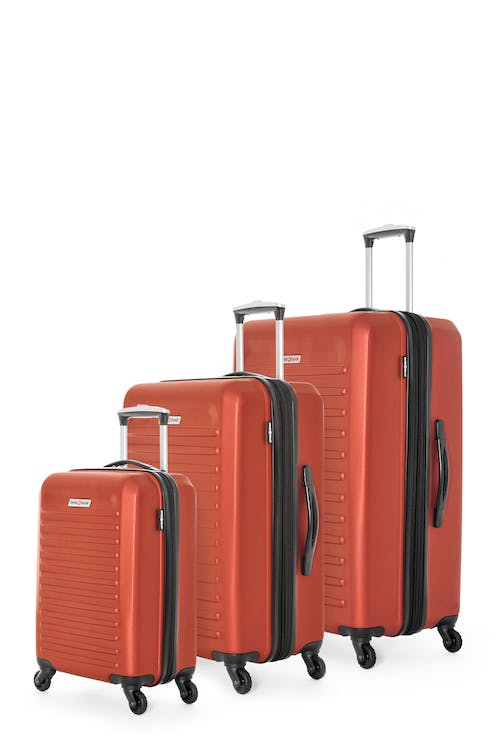 Swissgear Intercontinental Collection Hardside Luggage 3 Piece Set - Orange