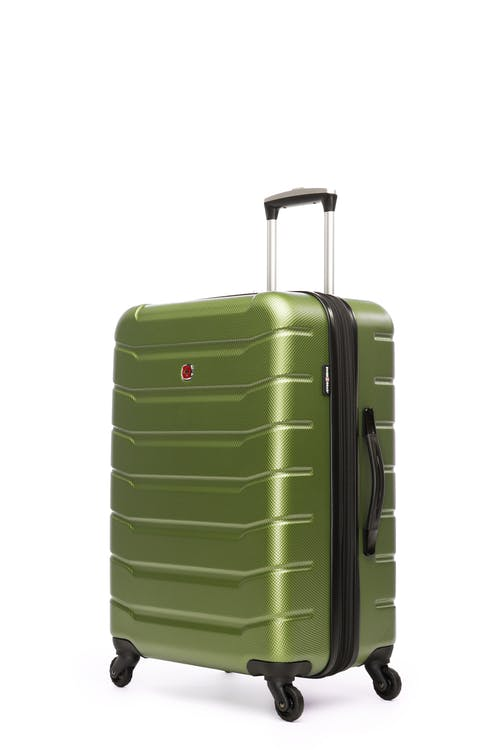 "Swissgear Vaiana Collection 24"" Expandable Hardside Luggage - Moss"