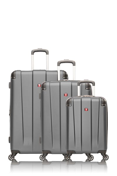 Swissgear Collection de bagages Protector - Ensemble de 3 valises rigides