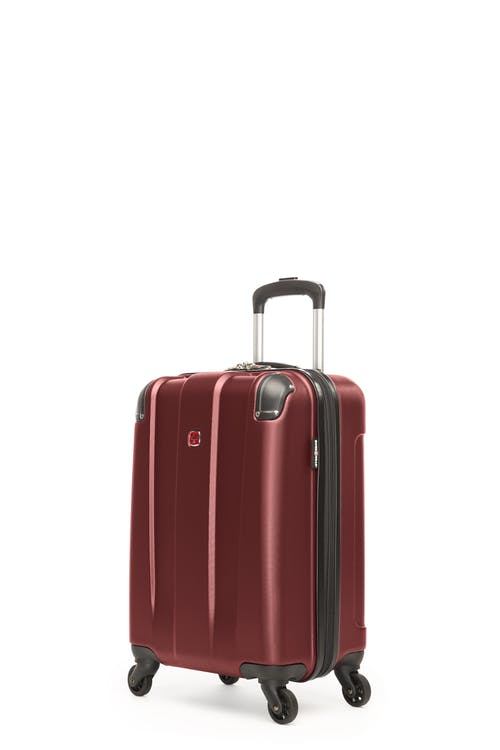 Swissgear Protector Collection Carry-On Hardside Luggage - Oxblood