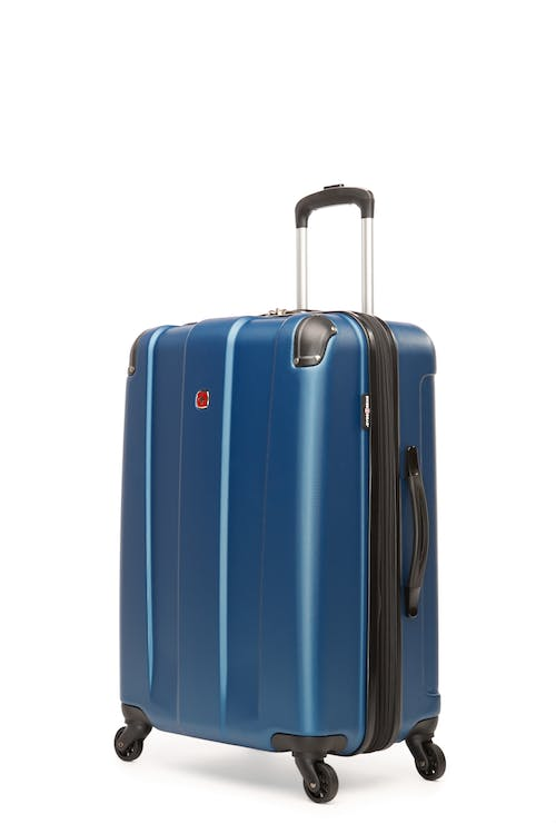 """Swissgear Protector Collection 24"""" Expandable Hardside Luggage - Blue"""