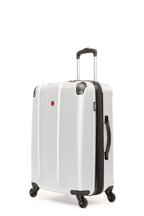 """Swissgear Protector Collection 24"""" Expandable Hardside Luggage - White"""