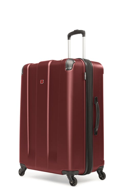 "Swissgear Protector Collection 28"" Expandable Hardside Luggage - Oxblood"
