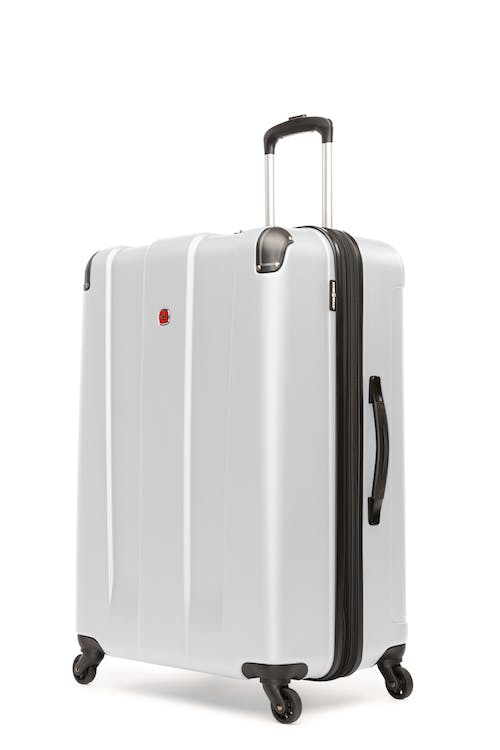 "Swissgear Protector Collection 28"" Expandable Hardside Luggage - White"