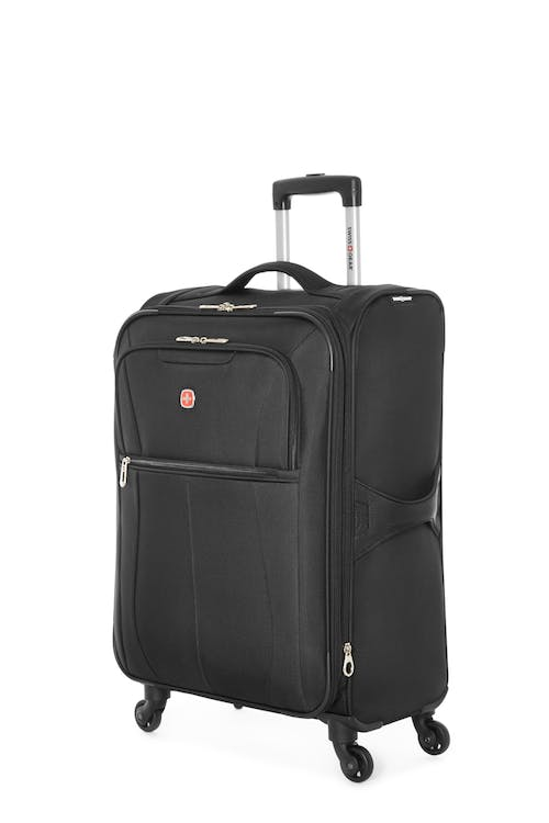 "Swissgear Classic Collection 24"" Expandable Upright Luggage - Black"