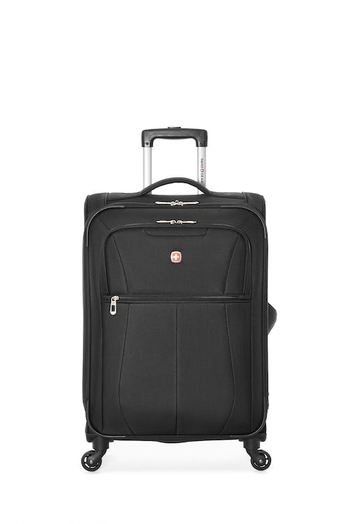"Swissgear Classic Collection 24"" Expandable Upright Luggage  Two front zippered pockets"