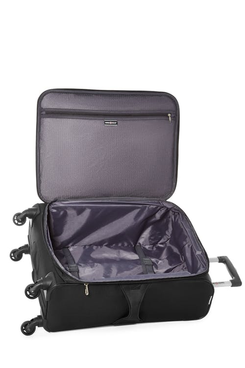 "Swissgear Classic Collection 24"" Expandable Upright Luggage  Interlocking tie-down straps"