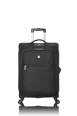 """Swissgear Classic Collection 24"""" Expandable Upright Luggage - Black"""