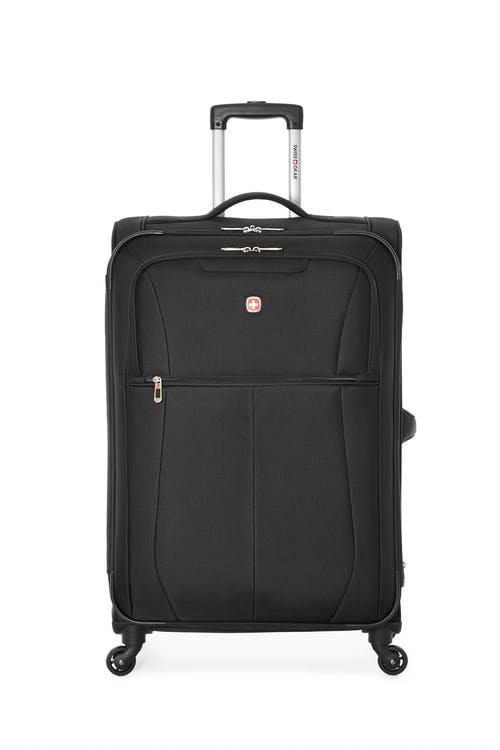 "Swissgear Classic Collection 28"" Expandable Upright Luggage  Two front zippered pockets"
