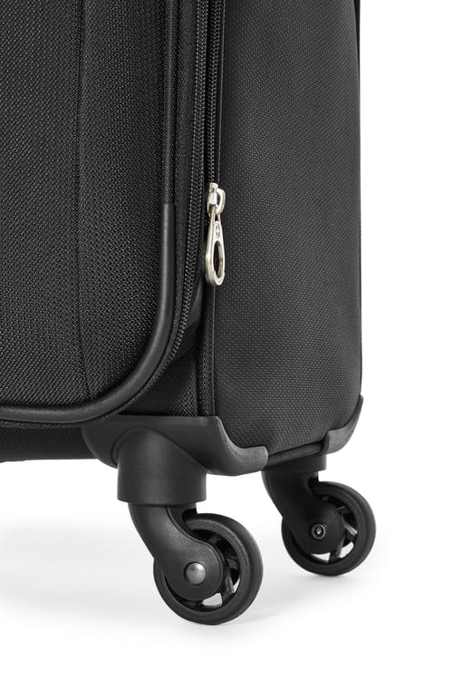 Swissgear Classic Collection Upright Luggage 3 Piece Set  Four 360 degree, multi-directional liteweight spinner wheels