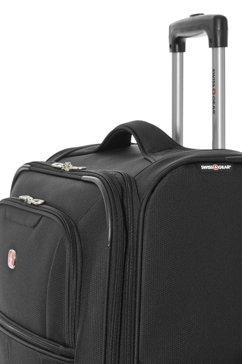 "Swissgear Classic Collection Upright Luggage 3 Piece Set  Top and side carry handle (24"" and 28"" only) for carrying options"