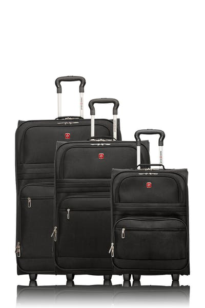 Swissgear Collection Baffin II - Ensemble de 3 bagages souples - Noir