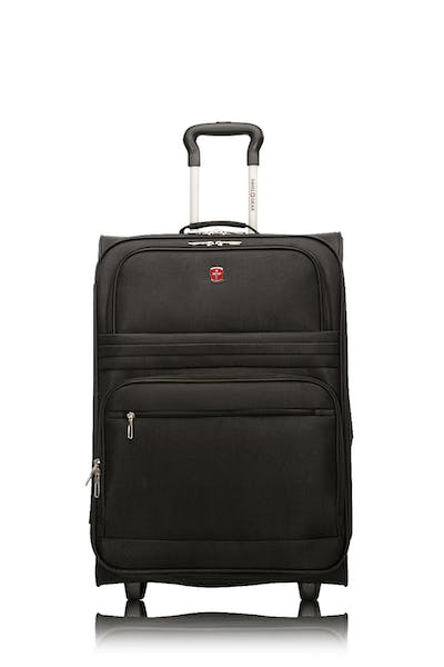 "Swissgear Baffin II Collection 24"" Expandable Softside Luggage - Black"
