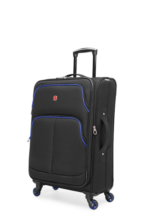 "Swissgear SW16674 Empire Collection 24"" Expandable Upright - Black / Blue"