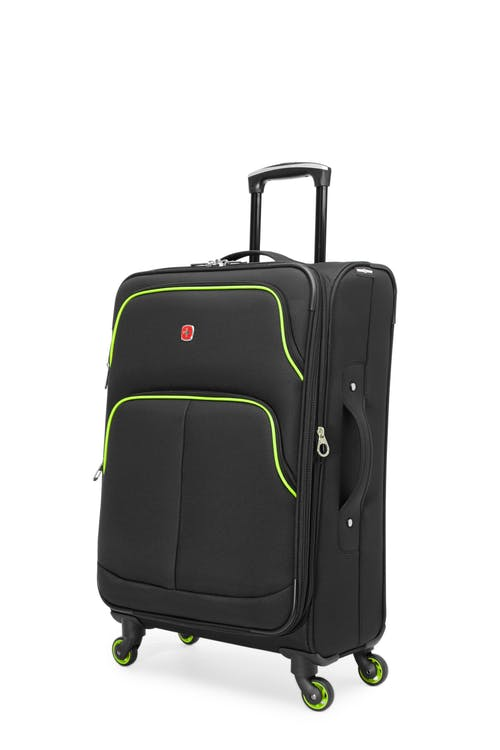 "Swissgear SW16674 Empire Collection 24"" Expandable Upright - Black / Lime"