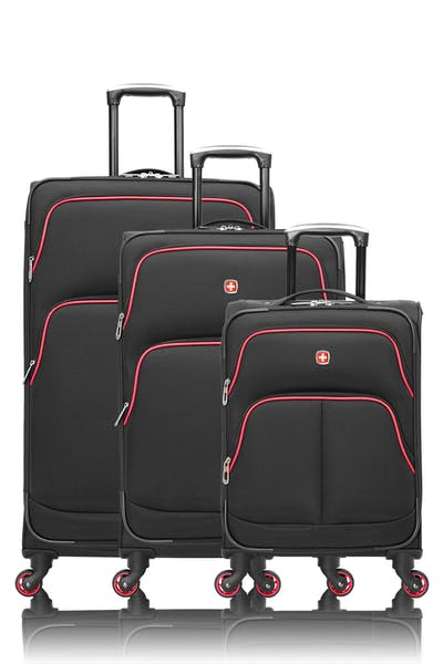 Swissgear Collection de bagages Empire - Ensemble de 3 valises souples