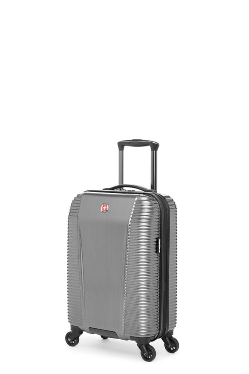 Swissgear Whistler Collection - Carry-On Hardside Luggage - Silver