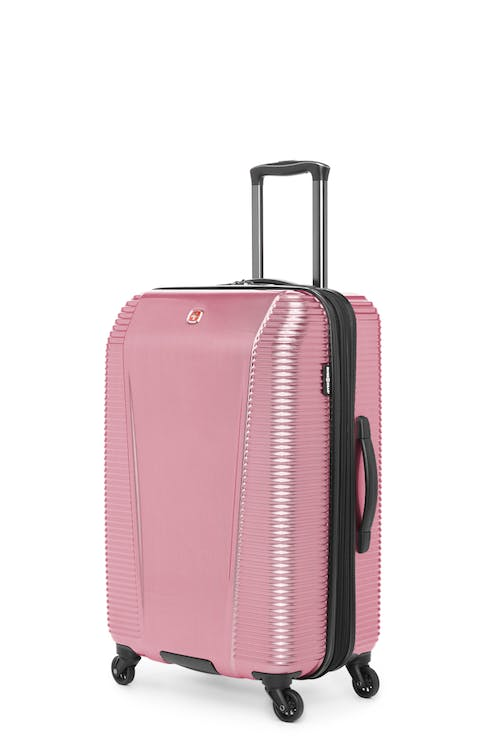 """Swissgear Whistler Collection 24"""" Expandable Hardside Luggage - Ruby Red"""