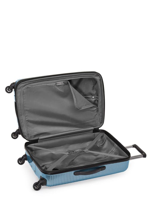 """Swissgear Whistler Collection 28"""" Expandable Hardside Luggage  Tie-down straps"""
