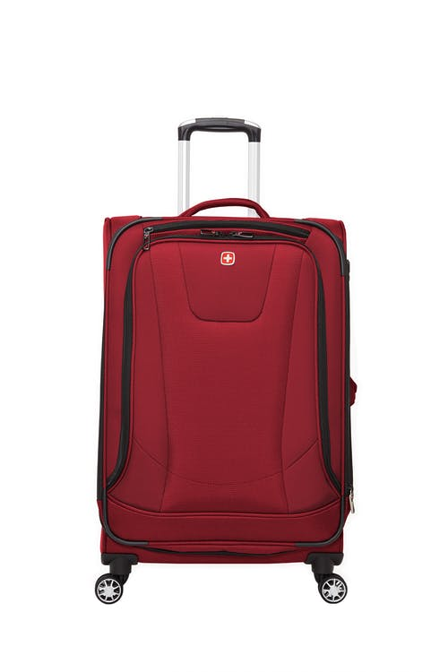 "Swissgear Neolite III Collection 24"" Expandable Upright Luggage  Front zippered pockets"