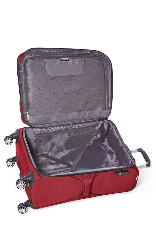 "Swissgear Neolite III Collection 24"" Expandable Upright Luggage  Interlocking tie-down straps"