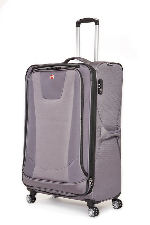 "Swissgear Neolite III Collection 28"" Expandable Upright Luggage - Grey"