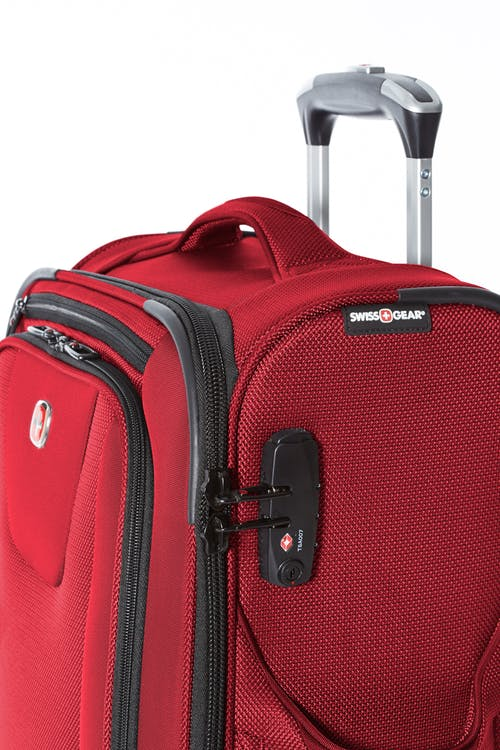 Swissgear Neolite III Collection Upright Luggage 3 Piece Set  Built-in TSA-standard combination zipper lock