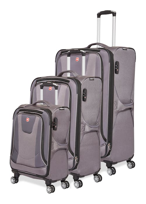 Swissgear Neolite III Collection Upright Luggage 3 Piece Set - Grey