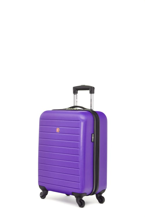 Swissgear In-Transit Collection - Carry-On Hardside Luggage - Grape