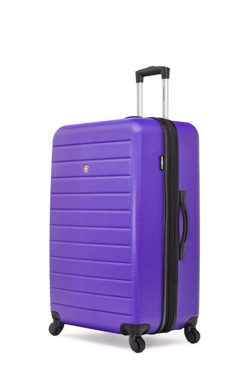 """Swissgear In-Transit Collection 28"""" Expandable Hardside Luggage - Grape"""