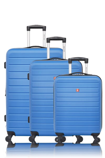 Swissgear Collection de bagages In-Transit - Ensemble de 3 valises rigides