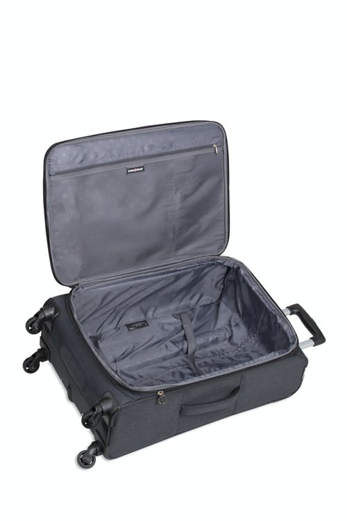 """Swissgear 2140 28"""" Expandable Spinner Luggage - Open View"""