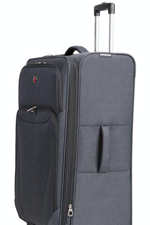 Swissgear 2140 Hardside Spinner Luggage Durable, reinforced padded grab handles
