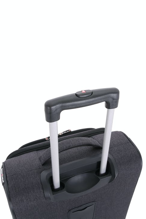 Swissgear 2140 Hardside Spinner Luggage Premium, telescopic aluminum locking handle