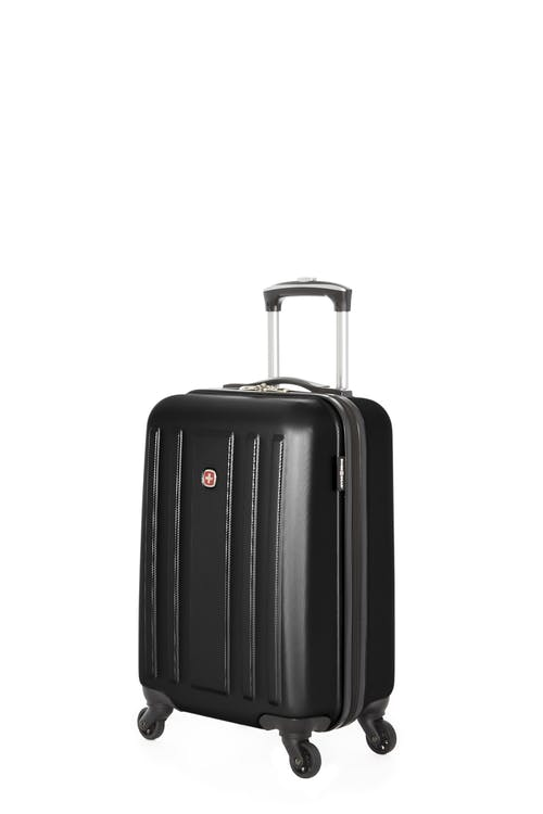 Swissgear La Sarinne Collection - Carry-On Hardside Luggage - Black