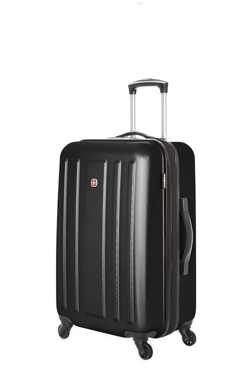 "Swissgear La Sarinne Collection 24"" Expandable Hardside Luggage - Black"