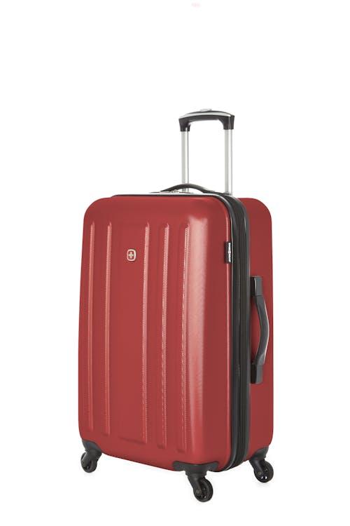 "Swissgear La Sarinne Collection 24"" Expandable Hardside Luggage - Oxblood"